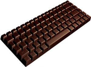 Chocolate for computer lovers.
